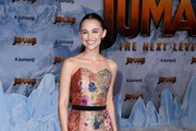 """Madison Iseman attends the premiere of Sony Pictures' """"Jumanji: The Next Level"""" at TCL Chinese Theatre on December 09, 2019 in Hollywood, California."""