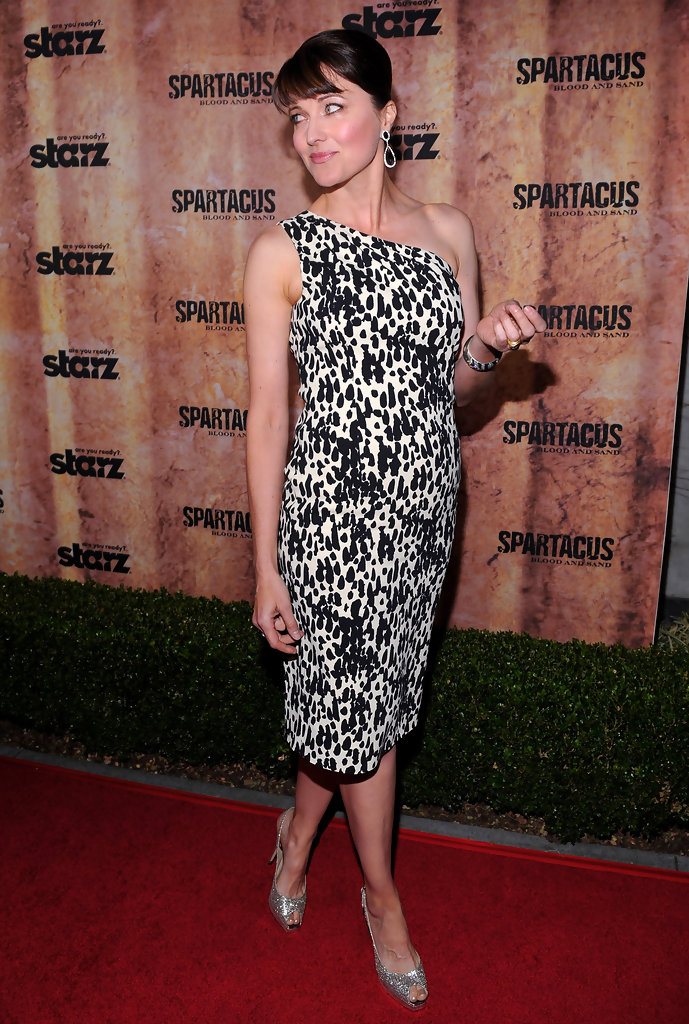 "Lucy Lawless in Premiere Of ""Spartacus: Blood And Sand ..."