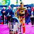 """C-3po Photos - (Editors Note: Image altered using digital filters) R2-D2, C-3PO arrive at The Premiere of Walt Disney Pictures and Lucasfilm's """"Star Wars: The Force Awakens"""" on December 14, 2015 in Hollywood, California. - Premiere 'Star Wars: The Force Awakens' - Arrivals"""