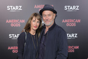 """Actor Corbin Bernsen attends the premiere of Starz's """"American Gods"""" at the ArcLight Cinemas Cinerama Dome on April 20, 2017 in Hollywood, California."""