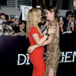 She gets hugs from Kate Winslet.
