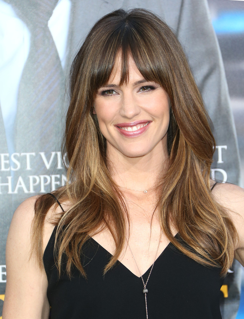 fringe hair styles garner photos photos draft day premieres in 7459