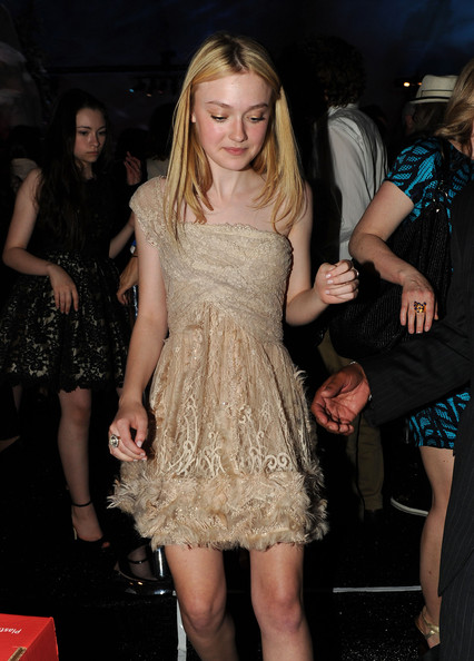 "Actress Dakota Fanning attends the after party for the premiere of Summit Entertainment's ""The Twilight Saga: Eclipse"" during the 2010 Los Angeles Film Festival at the L.A. Live Event Deck on June 24, 2010 in Los Angeles, California."