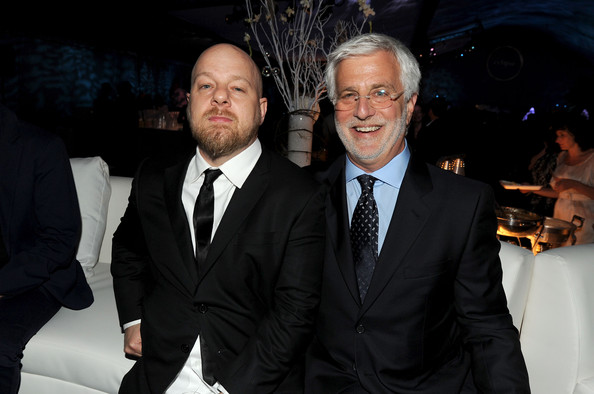 "Director David Slade and Summit Entertainment President Rob Friedman attends the after party for the premiere of Summit Entertainment's ""The Twilight Saga: Eclipse"" during the 2010 Los Angeles Film Festival at the L.A. Live Event Deck on June 24, 2010 in Los Angeles, California."