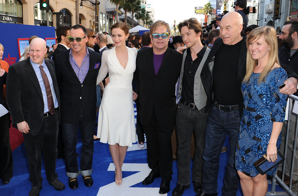 James Mcavoy Gnomeo And Juliet Emily Blunt Jam...