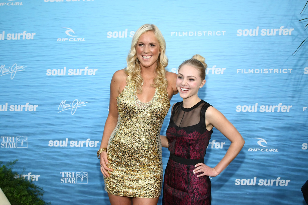 Actress In Soul Surfer: Premiere Of TriStar Pictures
