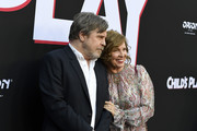 """Marilou York, and Mark Hamill attend the Premiere Of United Artists Releasing's """"Child's Play"""" at ArcLight Hollywood on June 19, 2019 in Hollywood, California."""