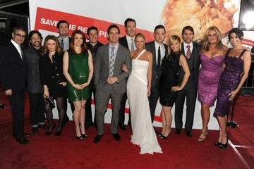 """Jason Biggs Eugene Levy Premiere Of Universal Pictures' """"American Reunion"""" - Red Carpet"""