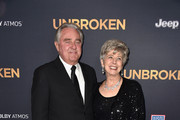 William Pitt and Jane Pitt, parents of Brad Pitt arrive at the Premiere Of Universal Studios' 'Unbroken' at TCL Chinese Theatre on December 15, 2014 in Hollywood, California.
