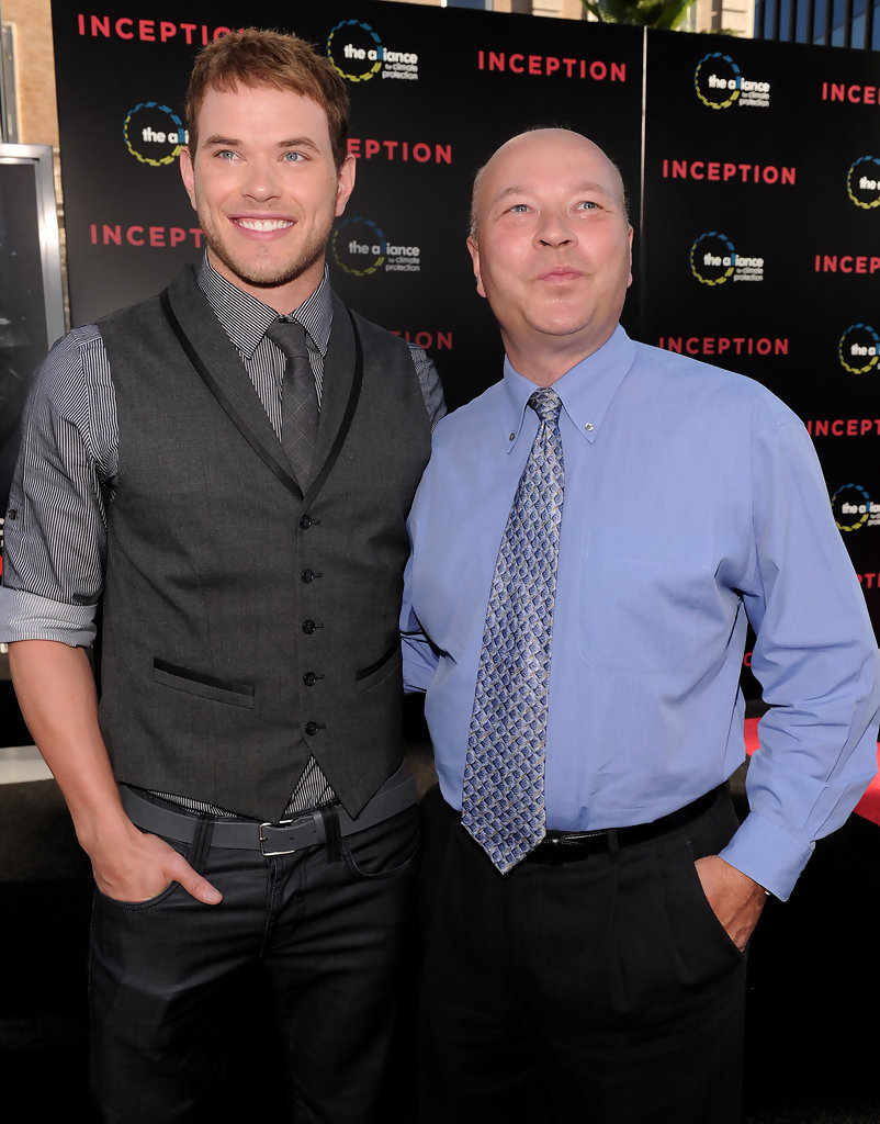 Photo of Kellan Lutz & his  Father  Bradley Lutz