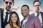 Actor Mike Epps (R) and wife Mechelle McCain attend the premiere of Warner Bros. Pictures' 'The Hangover Part III' at Westwood Village Theater on May 20, 2013 in Westwood, California.