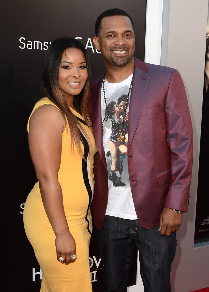 Mike Epps with cool, friendly, fun, Wife Mechelle Epps