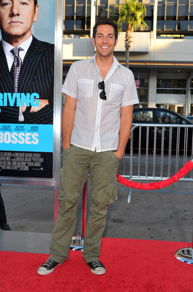 "Actor Zachary Levi arrives at the premiere of Warner Bros. Pictures' ""Horrible Bosses"" at Grauman's Chinese Theatre on June 30, 2011 in Hollywood, California."
