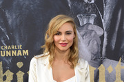 "Actor Samaire Armstrong attends the premiere of Warner Bros. Pictures' ""King Arthur: Legend Of The Sword"" at TCL Chinese Theatre on May 8, 2017 in Hollywood, California."