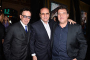(L-R) Producers Mark Canton, Gianni Nunnari and director Noam Murro attend the premiere of Warner Bros. Pictures and Legendary Pictures' '300: Rise Of An Empire' at TCL Chinese Theatre on March 4, 2014 in Hollywood, California.