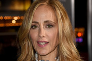 """Kim Raver arrives at the premiere of Warner Bros. Pictures' """"The Mule"""" at the Village Theatre on December 10, 2018 in Los Angeles, California."""
