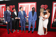 "Jon Hamm, Jeff Tomsic, Ed Helms, Hannibal Buress, Annabelle Wallis and Isla Fisher attend the Premiere Of Warner Bros. Pictures And New Line Cinema's ""Tag"" at Regency Village Theatre on June 7, 2018 in Westwood, California."