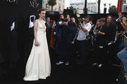 """Taissa Farmiga attends the Premiere Of Warner Bros. Pictures' """"The Nun"""" at TCL Chinese Theatre on September 4, 2018 in Hollywood, California."""