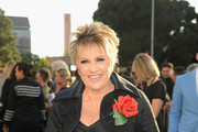 """Lorna Luft arrives on the red carpet at the Premiere Of Warner Bros. Pictures' """"A Star Is Born"""" at The Shrine Auditorium on September 24, 2018 in Los Angeles, California."""