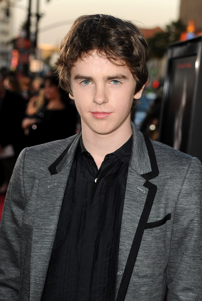 Freddie highmore in premiere of the weinstein company 39 s for Freddie highmore movies and tv shows