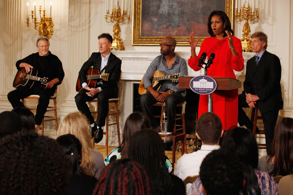 Michelle obama and darius rucker photos photos president for First house music