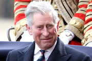 Prince Charles, Prince of Wales smiles during a ceremonial welcome for South African President Jacob Zuma on Horseguards Parade on March 3, 2010 in London, England. The South African Leader is on a three day State visit to Britain.