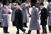 South African President Jacob Zuma and Prince Philip, Duke of Edinburgh inspect the Honour Guard during a ceremonial welcome on Horseguards Parade on March 3, 2010 in London, England. The South African Leader is on a three day State visit to Britain.