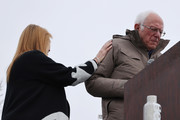 Democratic presidential candidate Sen. Bernie Sanders (I-VT) (R) and his wife Jane O'Meara Sanders arrive for a campaign rally in the Central Mall of the Utah State Fair Park March 02, 2020 in Salt Lake City, Utah. Sanders is campaigning in Utah and Minnesota the day before Super Tuesday, when 1,357 Democratic delegates in 14 states across the country will be up for grabs.
