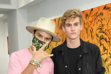 Presley Gerber Chrome Hearts Celebrates 3-Year Anniversary in Miami Design District