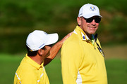 Thomas Bjorn Francesco Molinari Photos Photo
