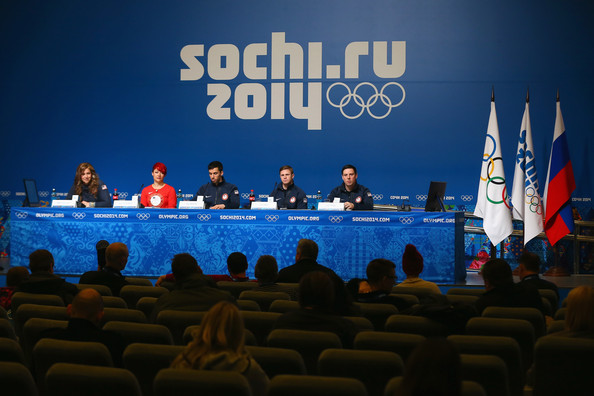 Winter Olympics Press Conference
