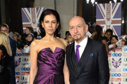 Daniela Lavender and Ben Kingsley attend Pride Of Britain Awards 2019 at The Grosvenor House Hotel on October 28, 2019 in London, England.