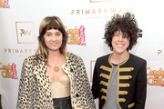 Musicians Lauren Ruth Ward (L) and LP attend the Primary Wave 10th Annual Pre-Grammy Party at The London West Hollywood on February 14, 2016 in West Hollywood, California.
