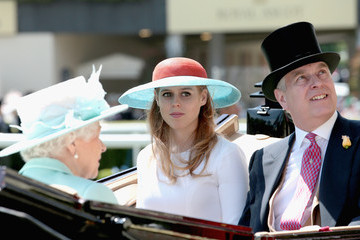 Prince Andrew Royal Ascot - Day 3