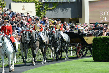Prince Andrew Royal Ascot 2015 - Day 3
