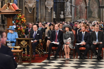 Prince Andrew The Royal Family Attends The Commonwealth Observance Day Service
