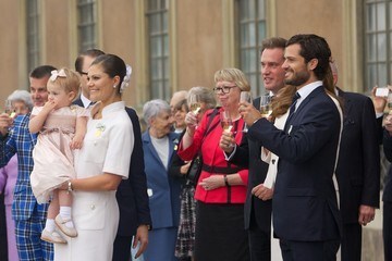 Prince Carl Philip King Carl Gustaf's 40th Jubilee - City Of Stockholm Celebrations