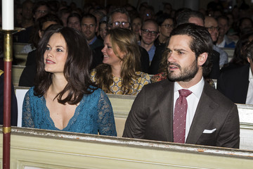 Prince Carl Phillip Swedish Royals Attend 'Christmas in Vasastan' Concert