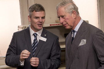Prince Charles Prince Charles Visits the School of Jewellery