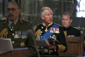 Prince Charles A Service of Commemoration