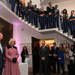 Prince Charles The Prince Of Wales and The Duchess Of Cornwall Visit The Cabinet Office