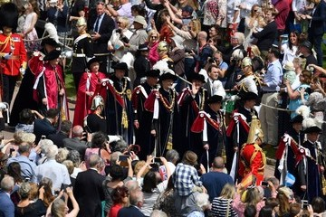 Prince Charles Earl Of Wessex Order Of The Garter Service At Windsor Castle