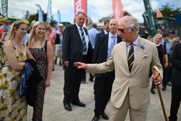 Prince Charles The Prince Of Wales And The Duchess Of Cornwall Attend The Great Yorkshire Show