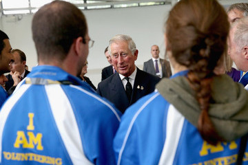 Prince Charles Royals Meets Volunteers And Athletes At The Invictus Games