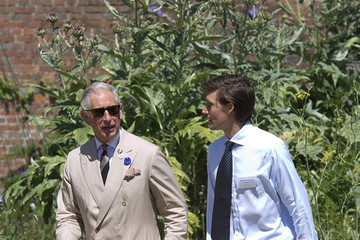 Prince Charles Prince Charles Visits the Coronation Meadow