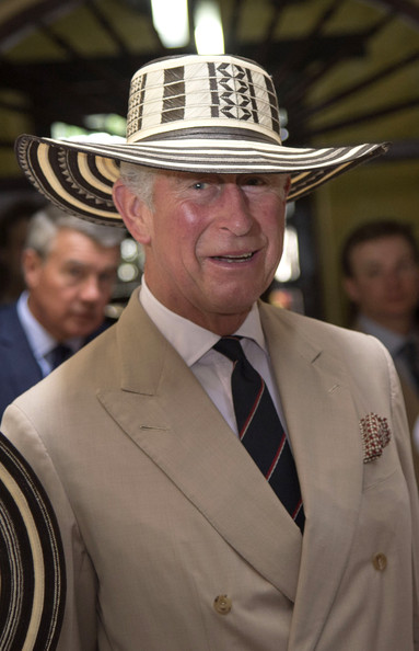 Prince Charles, Prince of Wales visits the Museo del Oro (Gold Museum) on October 31, 2014 in Cartagena, Colombia. The Royal Couple are on a four day visit to Colombia as part of a Royal tour to Colombia and Mexico. After fifty years of armed conflict in Colombia the theme for the visit is Peace and Reconciliation.