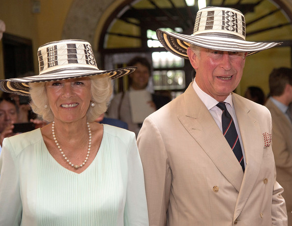 Camilla, Duchess of Cornwall and Prince Charles, Prince of Wales visit the Museo del Oro (Gold Museum) on October 31, 2014 in Cartagena, Colombia. The Royal Couple are on a four day visit to Colombia as part of a Royal tour to Colombia and Mexico. After fifty years of armed conflict in Colombia the theme for the visit is Peace and Reconciliation.