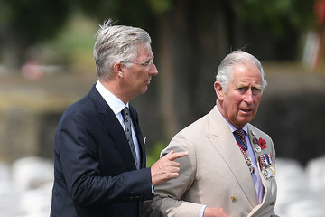 Prince Charles 100th Anniversary Of The Battle Of Passchendaele Is Commemorated In Ypres