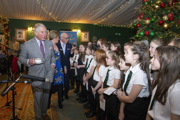 Prince Charles The Duke Of Rothesay Surprises Guests At Tea Dance Dumfries House
