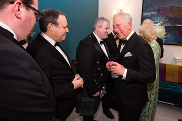 Prince Charles The Prince Of Wales & Duchess Of Cornwall Attend A Dinner To Mark St Patrick's Day